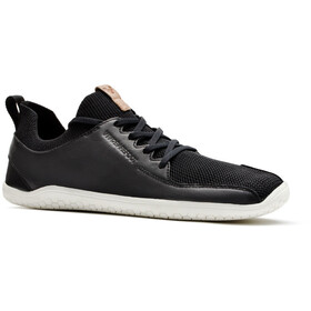 Vivobarefoot PrImus KnIt Leather Shoes Herr black